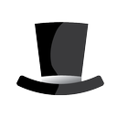 black hat, hat, seo icon