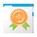 page, prize, quality, achievement, award, best, favorite, star, win, winner