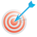 analytics, chart, graph, internet, marketing, pay per click, ppc, report, seo, target, web icon