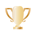 business, conversion, ecommerce, finance, sale, seo, trophy icon