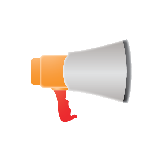 be heard, chat, comment, marketing, megaphone, message, seo, speech, talk, voice, web icon