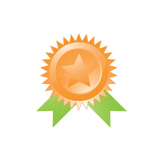 achievement, award, badge, best, connection, favorite, like, marketing, medal, prize, quality, ribbon, seo, star, trophy, win, winner icon