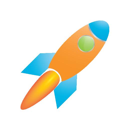 communication, connection, conversion, internet, marketing, network, rocket, seo, traffic, transport, vehicle, web icon