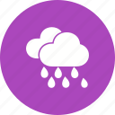 heavy, monsoon, rain, rainfall, storm, warning icon