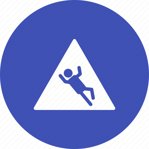 caution, danger, safety, sign, slip, warning, water icon