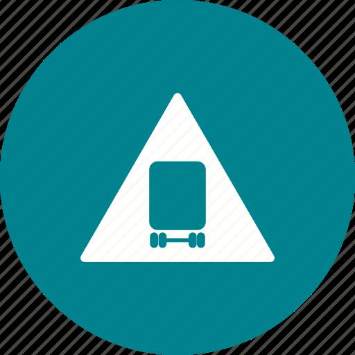 caution, danger, safety, sign, vehicle, warning, wheel icon
