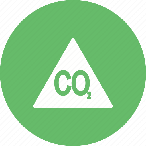 air, carbon, co2, dioxide, global, pollution, warming icon