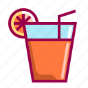 beverage, cocktail, drink, glass, juice, tea, water icon