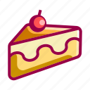bakery, cake, cooking, dessert, gastronomy, restaurant icon