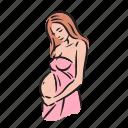 pregnancy, woman, maternity, pregnant, baby, belly, birth