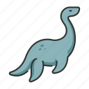 animal, dinosaur, elasmosaurus, extinct, wildlife icon