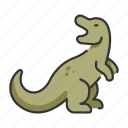 animal, dinosaur, extinct, tyrannosaurus, wildlife icon