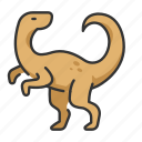 animal, dinosaur, extinct, velociraptor, wildlife icon