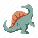 animal, dinosaur, extinct, spinosaurus, wildlife icon