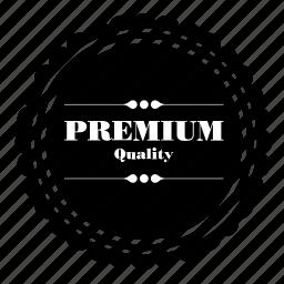 label, premium, product, quality, tag icon