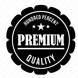 hundred, label, percent, premium, tag icon