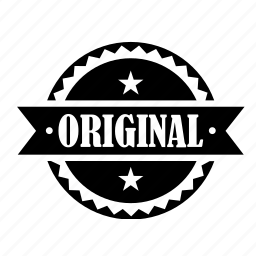 label, original, product, quality, tag icon