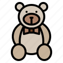 bear, doll, gift, special