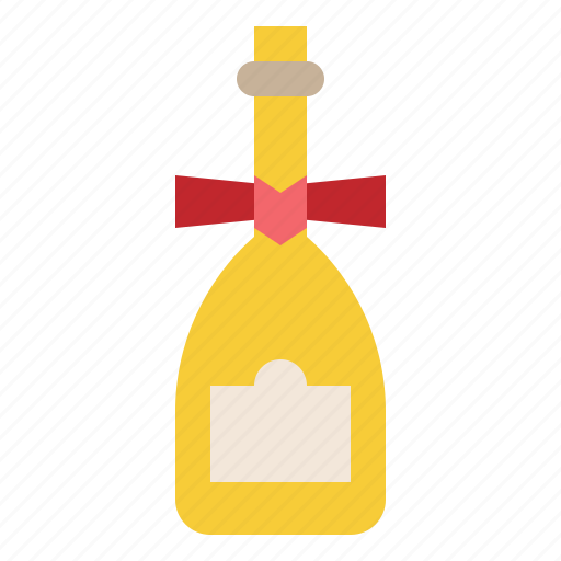 champagne, drink, gift, special icon