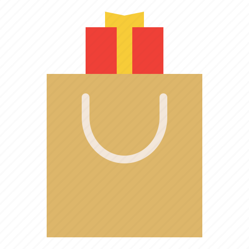 bag, gift, present, special icon