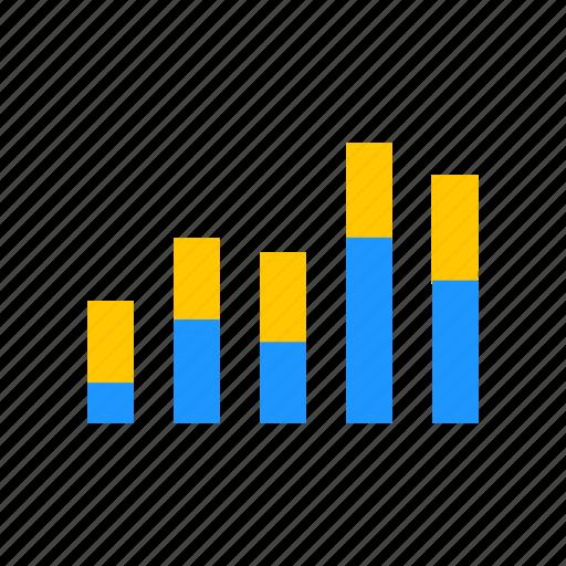 bar graph, chart, data analysis, statistic icon
