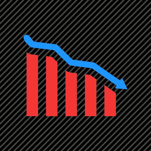 bar graph, chart, data analysis, statistics icon