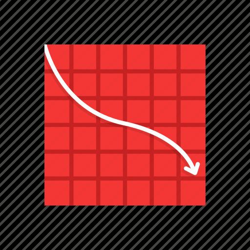 chart, data analysis, line graph, marketing icon