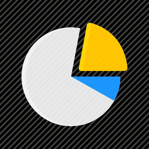 chart, data analysis, pie graph, sales icon