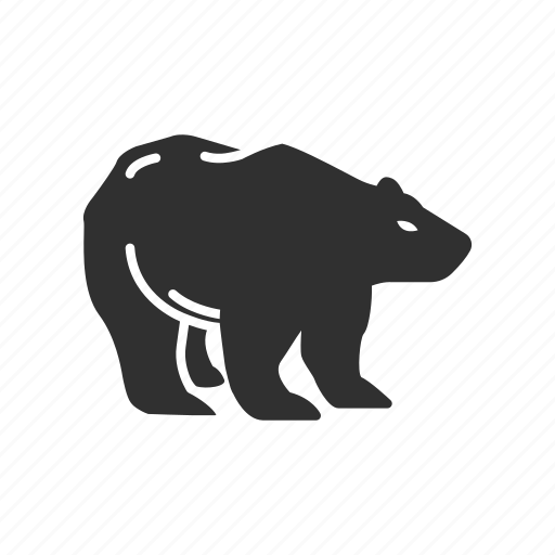 animal, bear, bear marketing, stock marketing icon