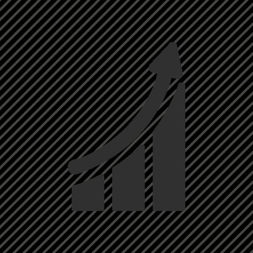 analytics, bar graph, chart, data analysis icon