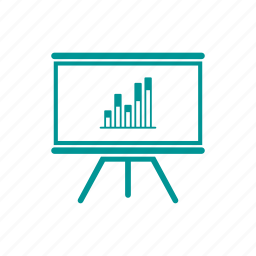 analysis, blackboard, board, business, education, info-graphic, presentation icon