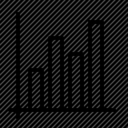 bar, business, chart, data, graph, ios, statistics icon
