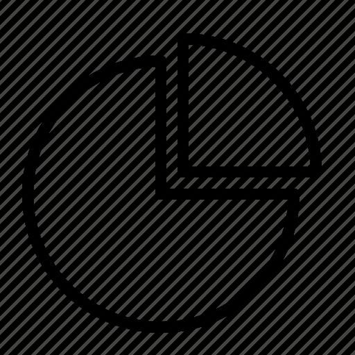 analytics, chart, diagram, graph, ios, pie, statistics icon