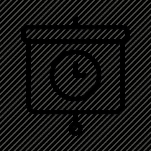 limit, presentation, target, time icon
