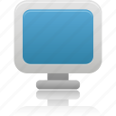 computer, desktop, device, display, monitor, screen icon