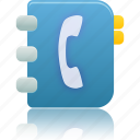 addressbook, contacts, phonebook icon