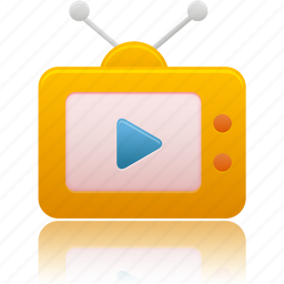 media, television, tv, video icon