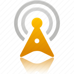 signal, tower, wireless icon