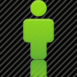 account, green, human, person, profile, user icon