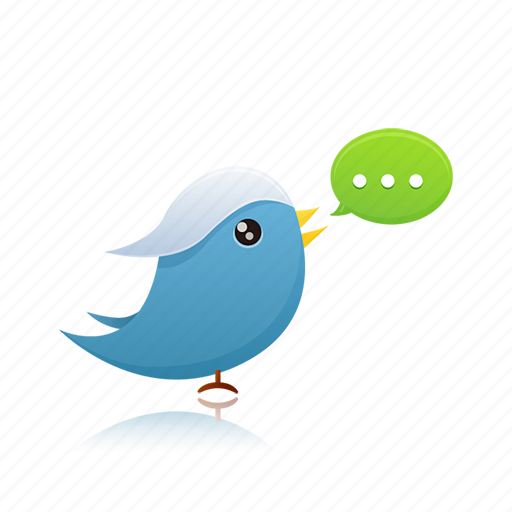 Twitter, social media icon - Download on Iconfinder
