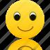 avatar, emoticon, emoticons, face, happy, smile, smiley icon
