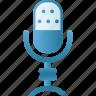 audio, microphone, multimedia, music, sound, speaker icon