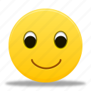 emoticons, emoticon, face, happy, smile, smiley