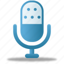 audio, microphone, music, record, sound, speaker icon