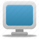 computer, desktop, display, monitor, screen, system icon