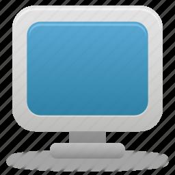 computer, desktop, display, monitor, screen, system icon