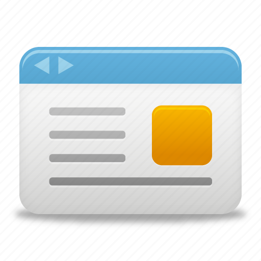browser, webpage, website icon