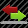 arrow, arrows, left, right icon