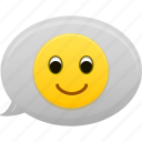 emoticon, emoticons, face, happy, smile, smiley icon