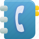 addressbook, phone book, phonebook icon